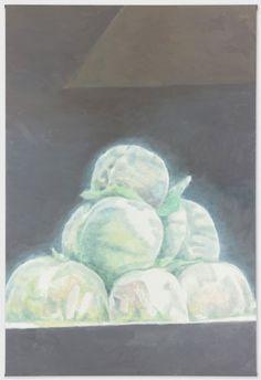 Luc Tuymans, Peaches, 2012.