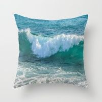 Awesome Wave Throw Pillow