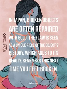 Kintsugi: The Japanese Art of Beauty in Brokenness