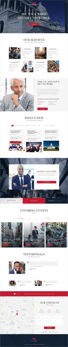 Political nonprofit is an wonderful 2 in 1 #WordPress template for #political and social movements, election campaigns, political part or individual #candidates website download now➯ https://themeforest.net/item/elections-campaign-political-wordpress-theme/17456181?ref=Datasata