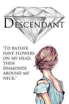"""""""I'd rather have flowers on my head, then diamonds around my neck."""""""