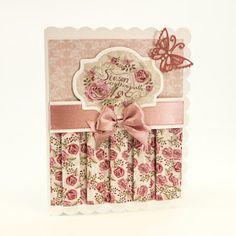 Blog Tonic: Romantic Cottage - Pink Rose Trio - Karen