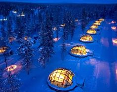"""Such a """"COOL"""" place - an Igloo Village! Once for Collins - Igloo Village - Hotel Kakslauttanen Saariselkä, Finland Vacation Destinations, Dream Vacations, Vacation Spots, Vacation Ideas, Places Around The World, The Places Youll Go, Places To See, We Are The World, Wonders Of The World"""