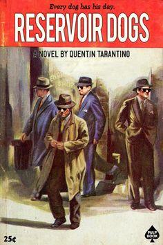 Películas de Tarantino convertidas en portadas de libros - Reservoir Dogs
