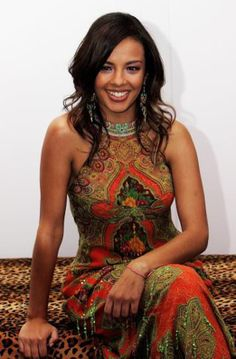 Liz Bonnin - because she's gorgeous and is a wonderful science presenter