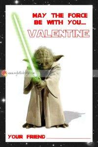 FREE Star Wars Valentine DIY Printable