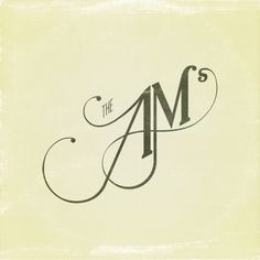 The AM #graphicdesign #typography