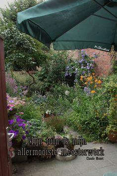 Mijn tuin is mijn mooiste mesterwerk