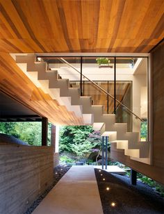 Southlands Residence   Ein Modernes Haus Im Wald