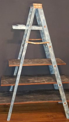 Blue Jean Laddie Three Tier Shelf | The Rustic Chick Boutique
