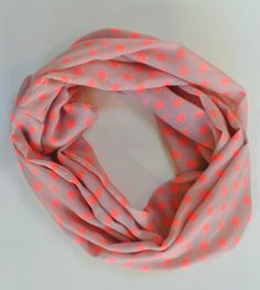 Colourful sheer infinity scarf | Felt