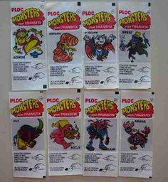 Ploc Monsters - Ôoo chiclete legal esse