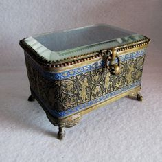 c1880s Victorian Perfume Casket, Display Box