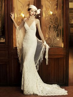 Vintage Wedding Dress, lose the hat