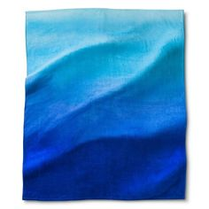 I love this towel! It's HUGE, and it's ombre! It is the perfect size for when I'm pregnant. Lol.