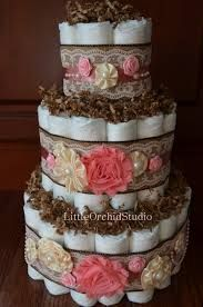 rustic baby girl shower - Google Search