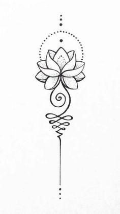 Red Lotus Tattoo, Sternum Tattoo Lotus, Lotus Flower Tattoo Meaning, Small Lotus Tattoo, Lotus Tattoo Design, Model Tattoos, Mini Tattoos, Small Tattoos, Diy Tattoo