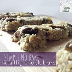 Creative Playhouse: Healthy Cereal Bar Snacks