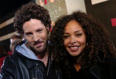 curly couple: joy denalane & max herre