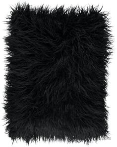 Poduszka dekoracyjna LUMA czarny/Faux fur pillow LUMA black