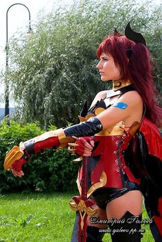 erza scarlet cosplay-fairy tail