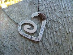 You Will Forever Be My Always Custom Hand by MyBellaByLizLollar, $38.00