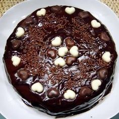Buttermilk Chocolate Cake with Fudge Icing...The Fudge Icing Recipe is amazing.