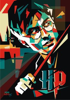Harry Potter | WPAP EDHO by edhoartwork on DeviantArt