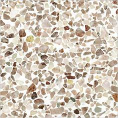 Terrazo tile.  Wish I could find this tile with the larger chips/pebbles in it.