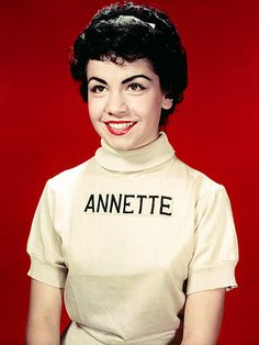 Annette Funicello / In 1955, Walt Disney cast 12-year-old Annette on The Mickey Mouse Club. She eventually parlayed her girl-next-door image into starring roles in teen beach-romp movies with Frankie Avalon. In 1987, while filming another beach movie with him (as parents by then) she experienced symptoms later diagnosed as multiple sclerosis. In her last years, she was in an MS coma, finally succumbing to the disease at age 70 on April 8, 2013.