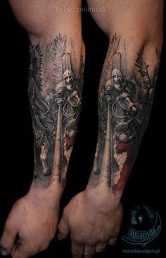 Husaria tatuaż
