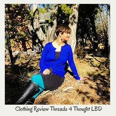 Threads 4 Thoughts: Little Black Dress styled 4 ways. Eco Friendly Fashion, Swing Dress, Trekking, Sustainable Fashion, Leather Pants, Scoop Neck, Posts, Thoughts, Womens Fashion
