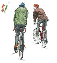 David Sparshott, Bike Watching