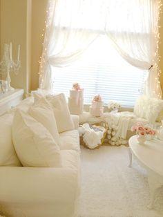 My Shabby Chic Home: @ My Living Room - Oturma Odasi