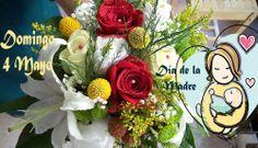 Se trata de nuestro cartel para el día de la madre, con unos de nuestras composiciones con flores de algodon