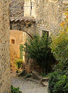 Mirmande - Drôme France