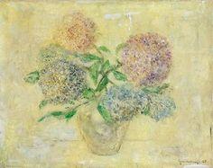 Lajos Szentivanyi | Untitled (Flowers) | Canvassed