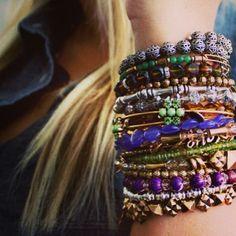 Colorful #charmedarms!