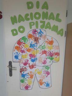 Porta - dia nacional do pijama