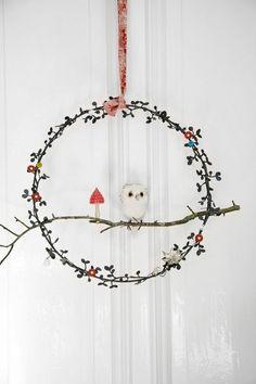 Most Stunning Nordic Christmas Wreaths Christmas Celebrations Scandinavian Christmas Decorations, Nordic Christmas, Noel Christmas, Diy Christmas Ornaments, All Things Christmas, Winter Christmas, Holiday Crafts, Christmas Wreaths, Danish Christmas