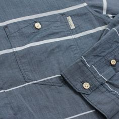 Striped Tailored Fit Long Sleeve Shirt | Shirts | Paul Smith Jeans