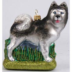 Christbaumschmuck-Figur Hund Alaskan Malamute http://gartenschaetze-online.de/festtagsschaetze/weihnachtsdekoration/christbaumschmuck/figuren_christbaumschmuck/christbaumschmuck_figuren_hunde_und_katzen
