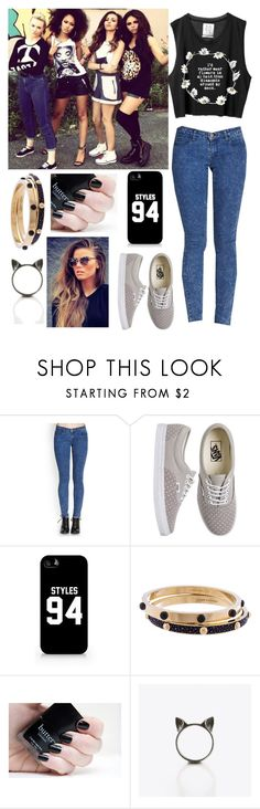 """""""▶Spend day with Little Mix ♡"""" by lucybitch ❤ liked on Polyvore featuring Forever 21, Vans, Samsung, Louis Vuitton and The Rogue + The Wolf"""