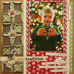 *Sweet Tradition* CK Nov/Dec 2012 - Scrapbook.com