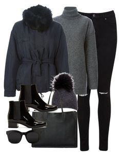 """""""Untitled #2840"""" by angieswardrobe ❤ liked on Polyvore featuring Miss Selfridge, STELLA McCARTNEY, McQ by Alexander McQueen, Inverni, BEGA and Yves Saint Laurent"""