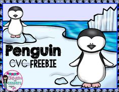 This freebie will have your kiddos matching pictures to the CVC words with tons of penguin fun!Check out my Penguin Literacy and Math unit for more penguin fun!!