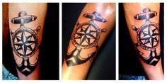 anchors old school tattoo
