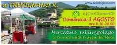 Mercato biologico a Trevignano - 50% sconto per le creme solari - 6biologico