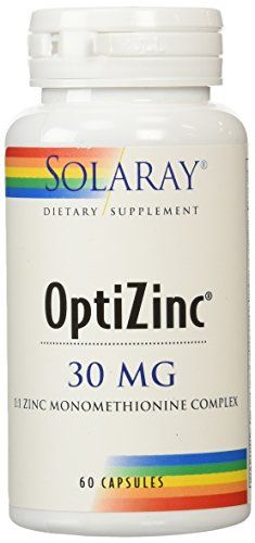 Solaray Optizinc Supplement 30 mg 60 Count -- See this great product by click affiliate link Amazon.com