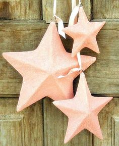 love this for Christmas, or of July. seen on Heather Bullard. Purple Christmas, Christmas Love, Vintage Christmas, Merry Christmas, Xmas, Glitter Stars, Pink Stars, Pink Glitter, Christmas Tree Decorations